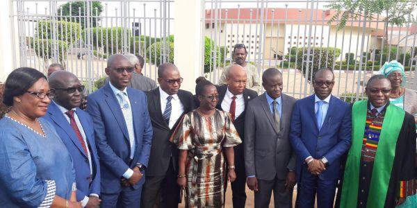 Accueil des candidats admis au concourt d'agrégation du CAMES en Médecine et d'Odontostomatogie en provenance du Gabon